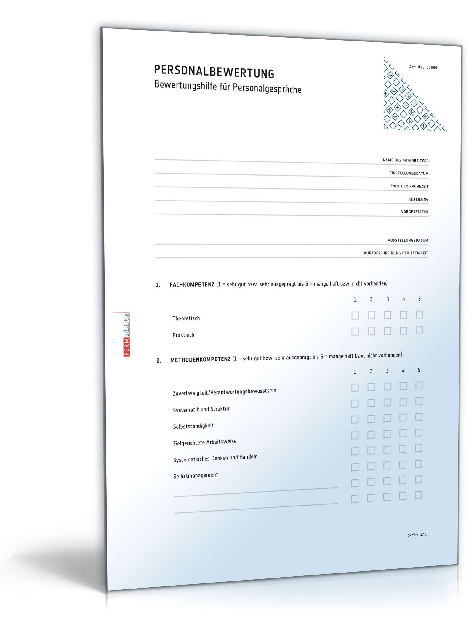 Musterbriefe Kondolenzschreiben : Mitarbeiterbeurteilung muster vorlage zum download