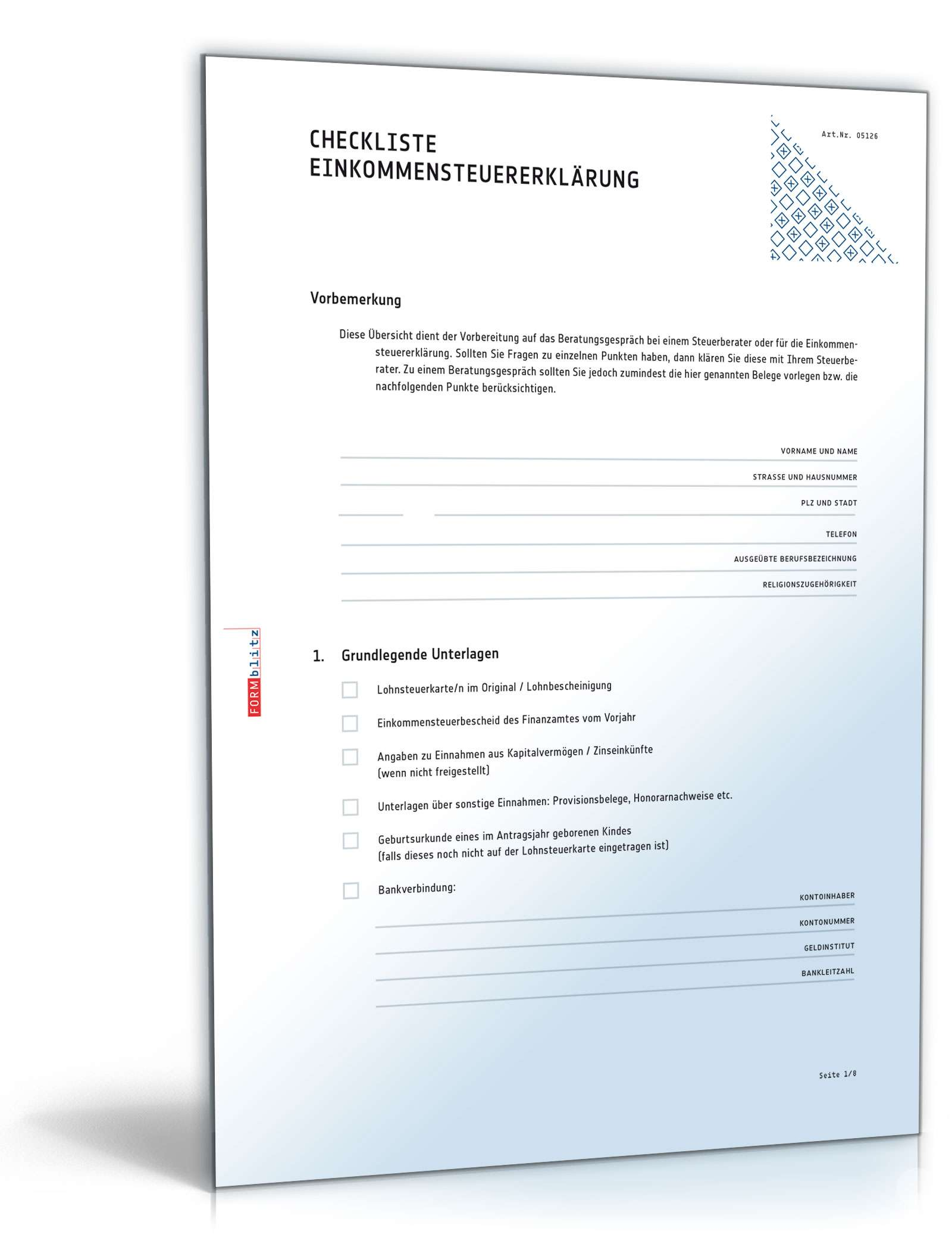Musterbriefe Unterlagen Schicken : Checkliste zur vorbereitung für ein gespräch beim