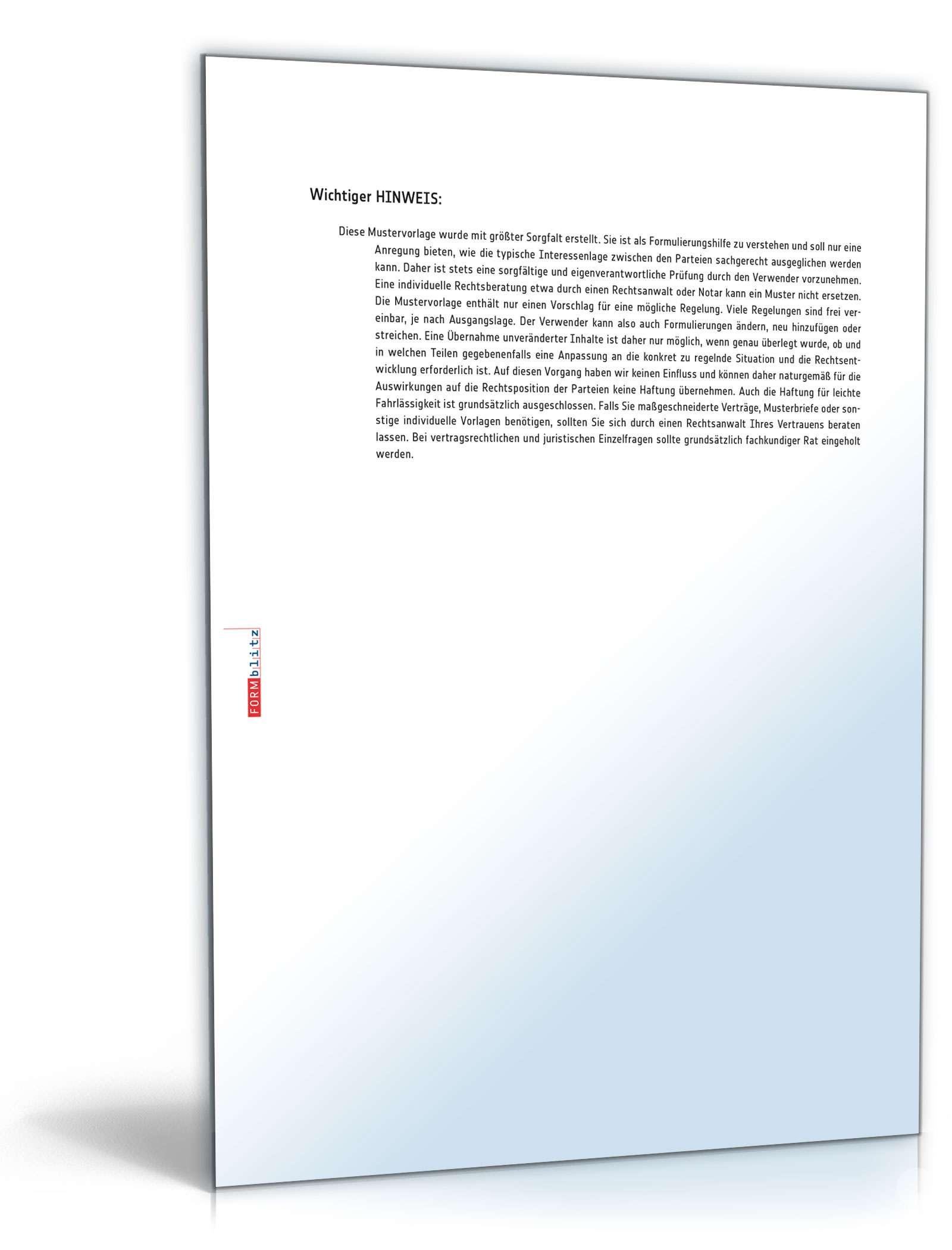 Fristsetzung Bei Verzug Muster Vorlage Zum Download