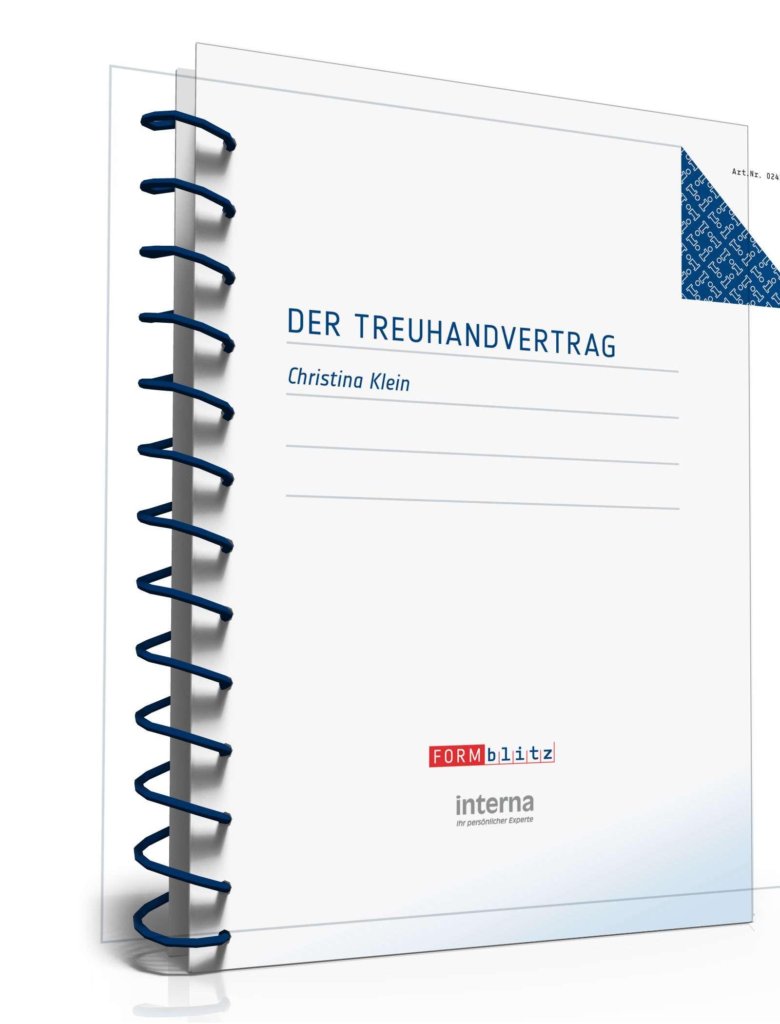 treuhandvertrag ratgeber zum download - Treuhandvertrag Muster