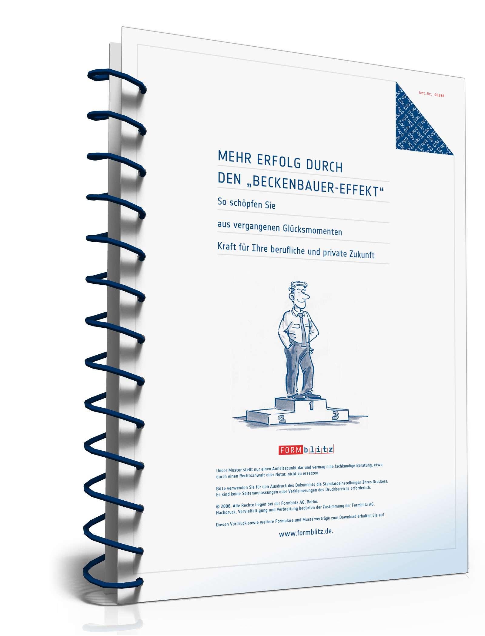 Mehr Erfolg durch den Beckenbauer-Effekt Dokument zum Download