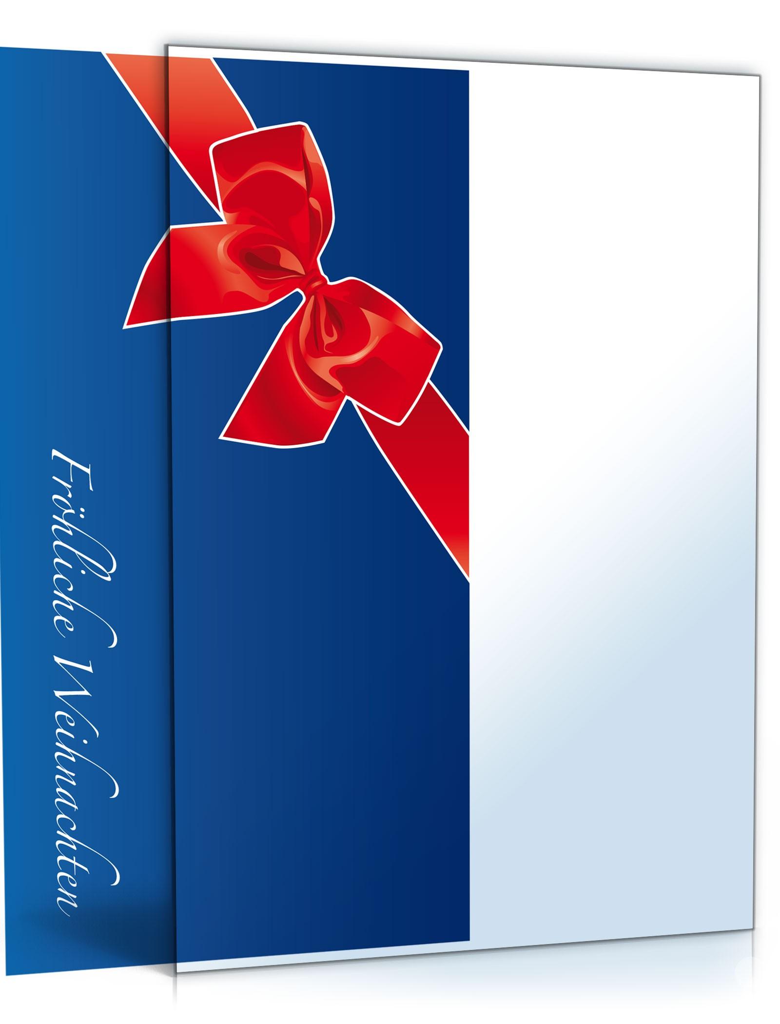 Weihnachtskarten Muster.Weihnachtskarte Muster Vorlage Zum Download